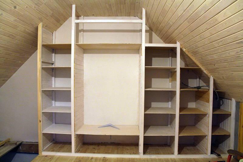 Делаем шкаф-купе самостоятельно от проекта до сборки своими руками