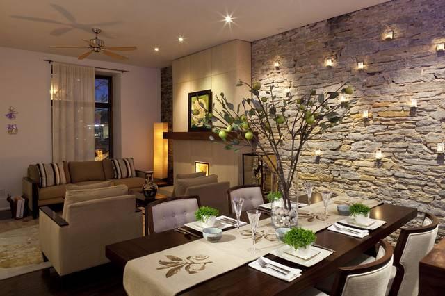 Галька в интерьере: лучшие решения для стильного дома