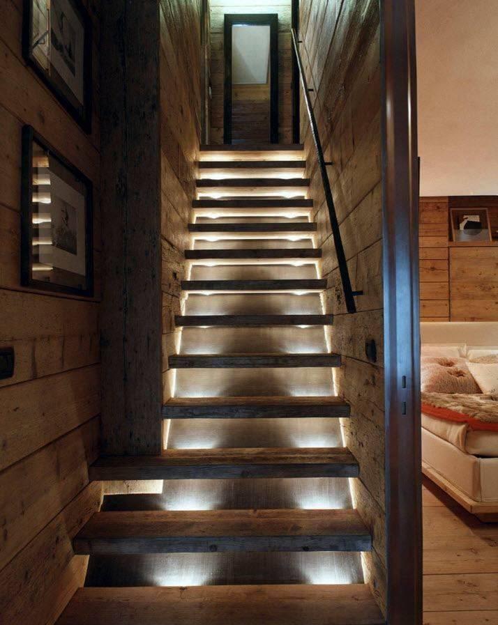 Лестница на мансарду в небольшом доме: варианты, компактные