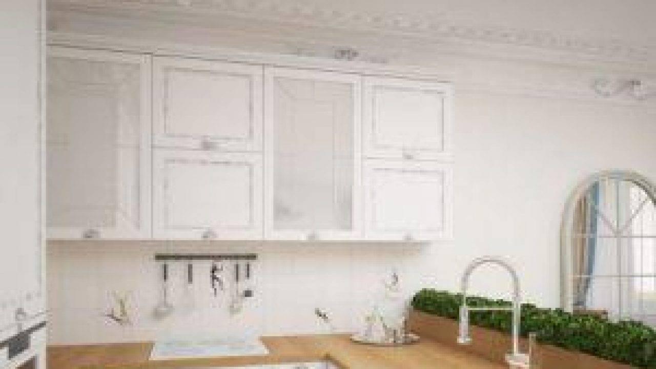 Практичная и оригинальная столешница для кухни из плитки