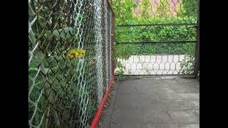 Мастер-класс поделка изделие забор из пластиковых бутылок  материал бросовый