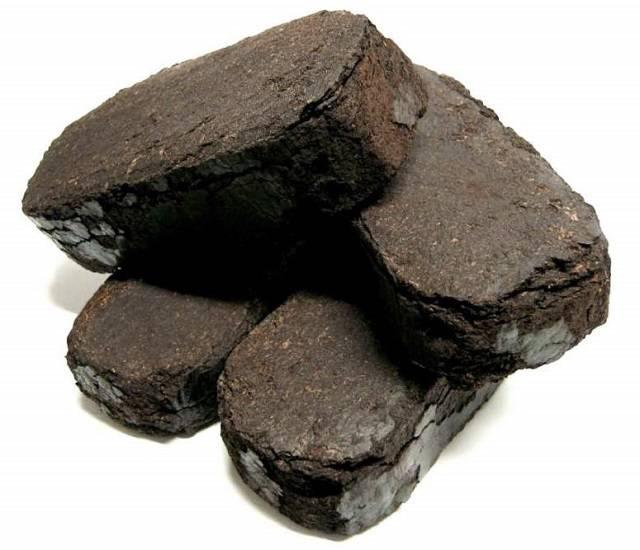 Использование торфяных брикетов для отопления помещений