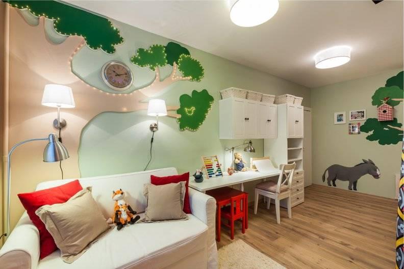 Дизайн интерьера детской комнаты 500+ фото