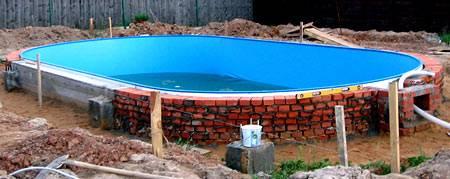 Маленький бассейн своими руками