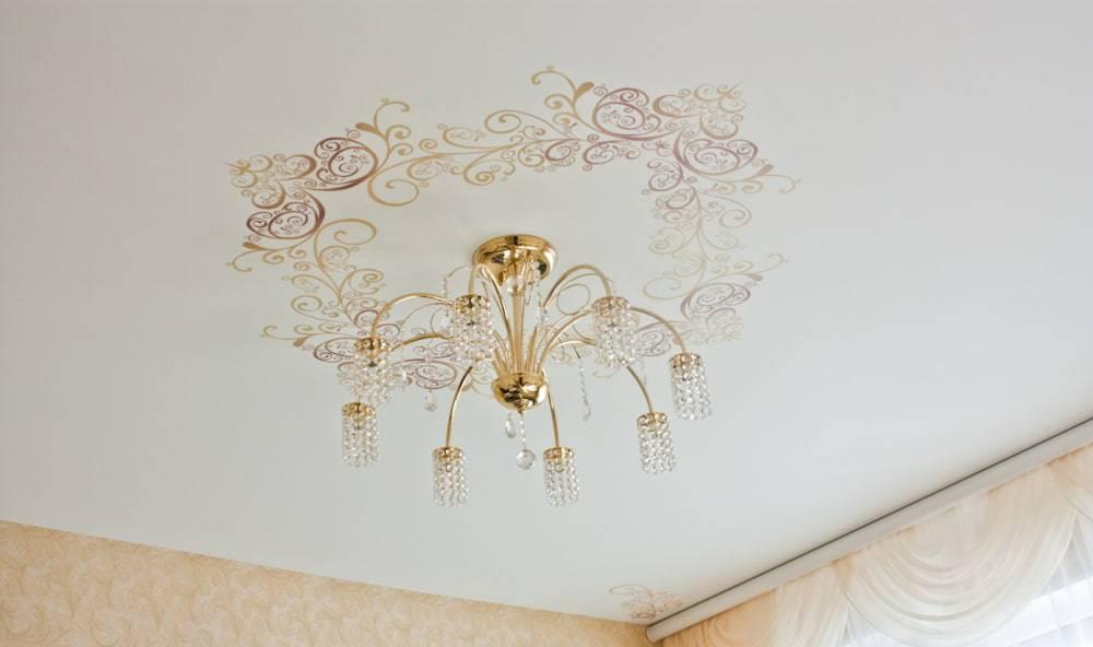 Натяжные потолки: современный дизайн модных и красивых потолков (125 фото и видео)