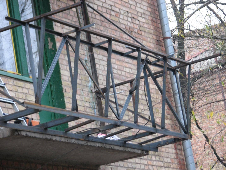 Балкон с выносом своими руками: как сделать