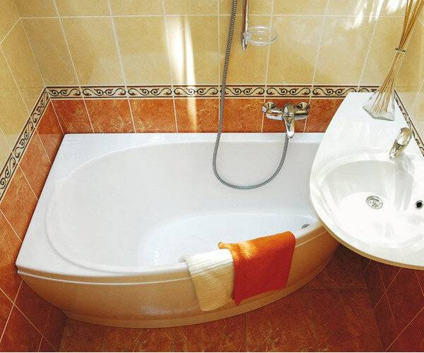 Установка акриловой ванны своими руками на ножках