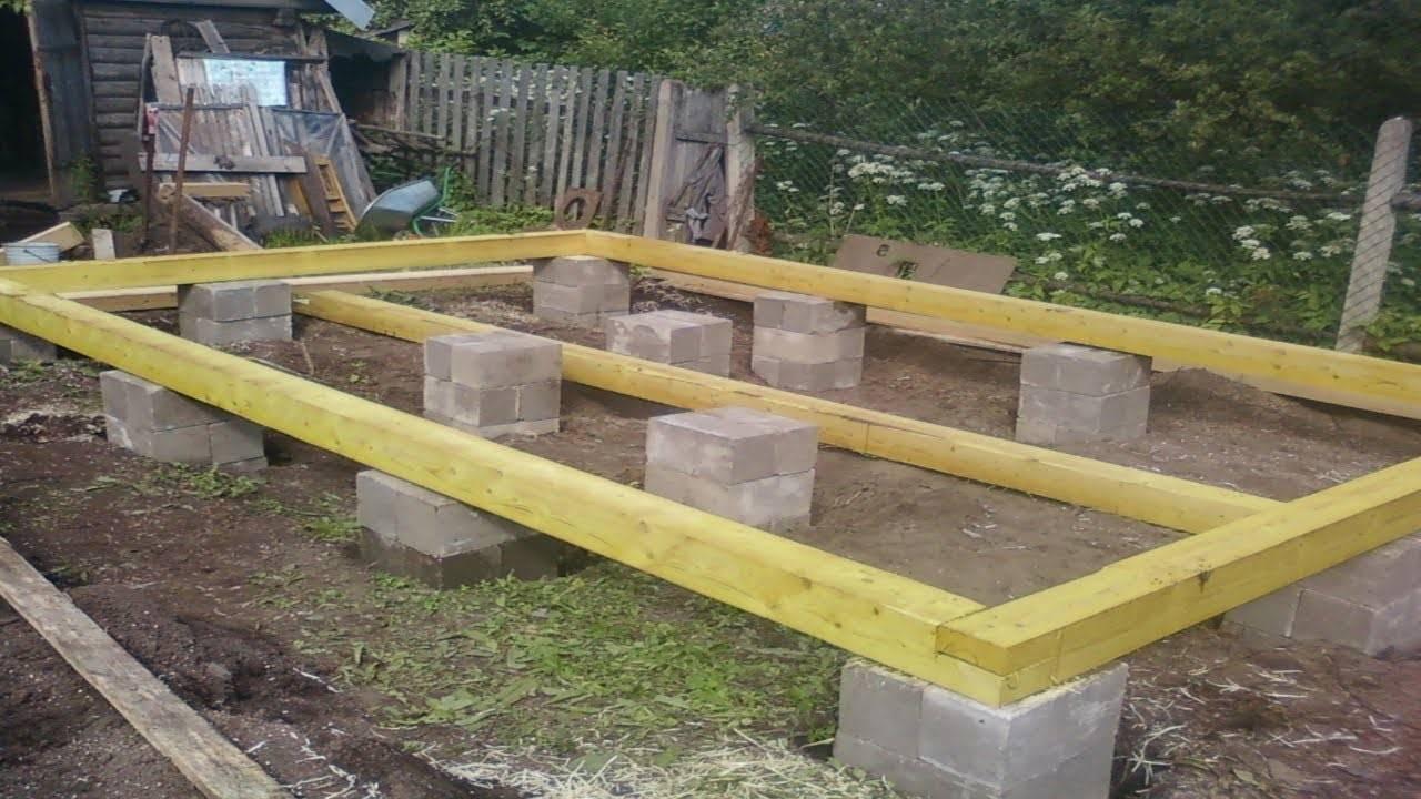 Свайный фундамент для дома — как сделать свайно-ленточный фундамент пошаговая инструкция