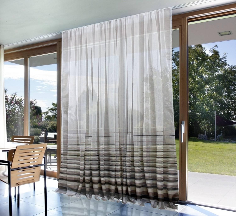 Комбинированные шторы в интерьере разных комнат