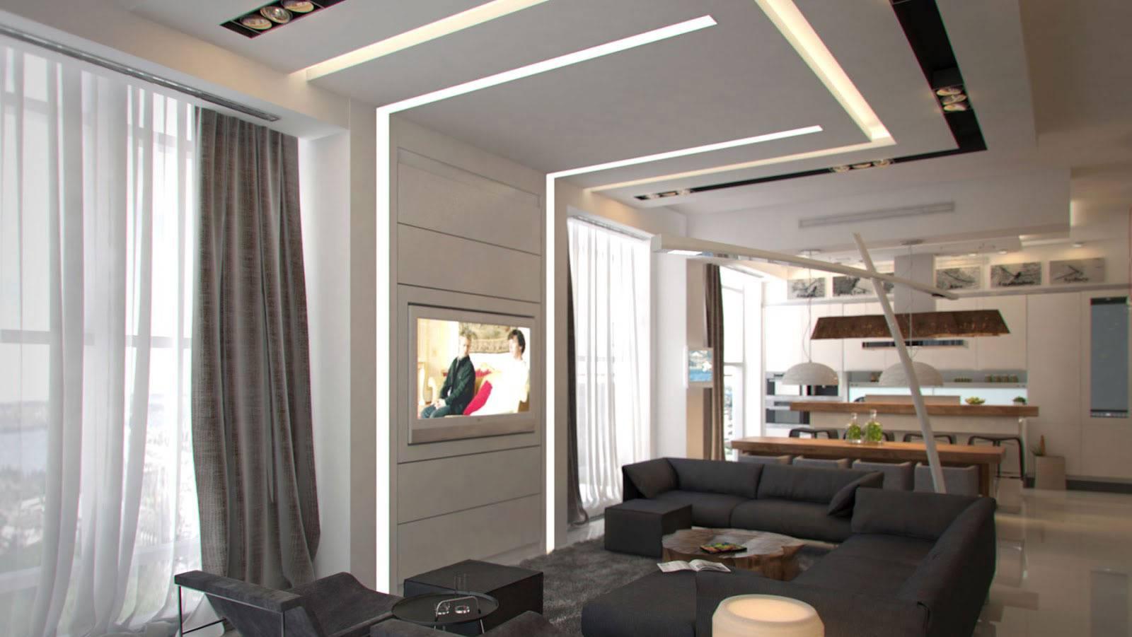 Серые шторы - 80 фото красивого дизайна и удачного сочетания в интерьере