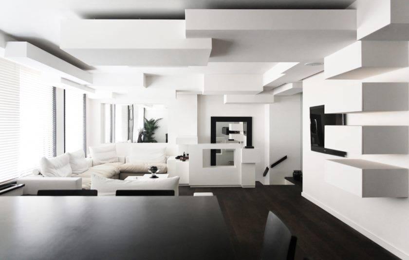 Голубой потолок в интерьере – сочетание цветов при дизайне помещений