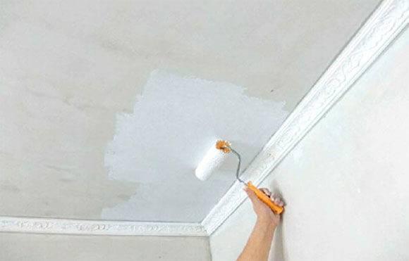 Как выполнить отделку потолка под покраску самостоятельно: этапы работ