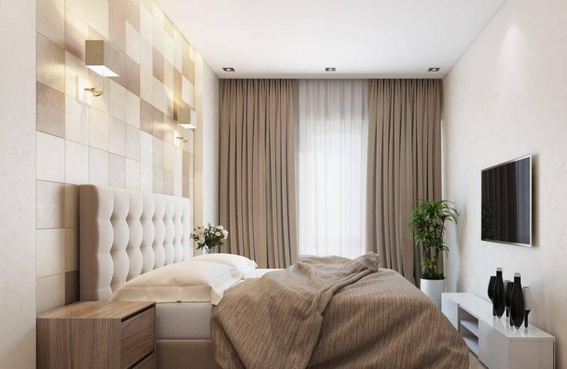 Дизайн спальни 15 кв.м. (75 фото) - варианты планировки и декора