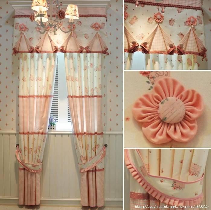 Как сделать шторы, гардины или занавески своими руками. большая инструкция (23 фото)