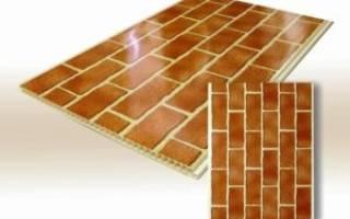 Виды, плюсы и минусы панелей под кирпич для внутренней отделки стен