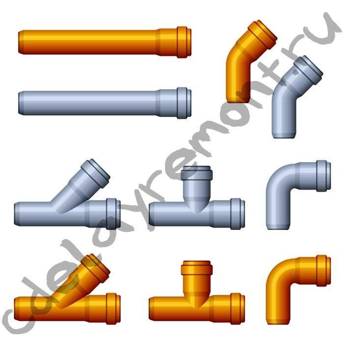 Схема разводки канализации в частном доме - делаем разводку своими руками