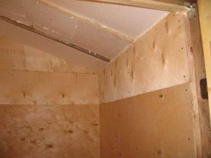 Шпаклевание деревянной поверхности -