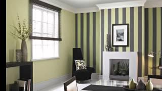 Лучшие идеи цветового комбинирования: фото обоев двух цветов в различных интерьерах