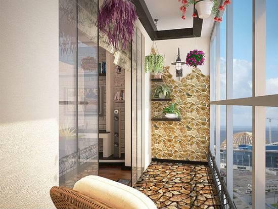 Как оформить стены на балконе? идеи дизайна и фото