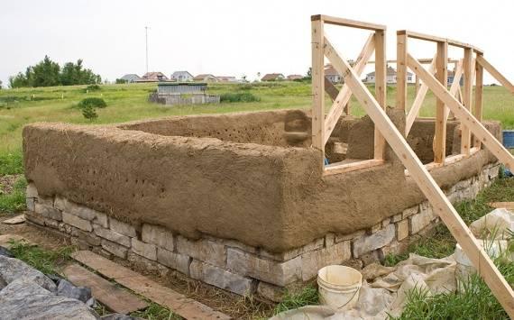Технология строительства глинобитного дома