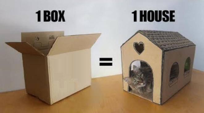 Как сделать домик для кошки своими руками: лучшие конструкции и пошаговая инструкция по их постройке (110 фото)