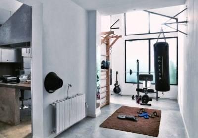Функциональный дизайн спортзала + фото интерьера