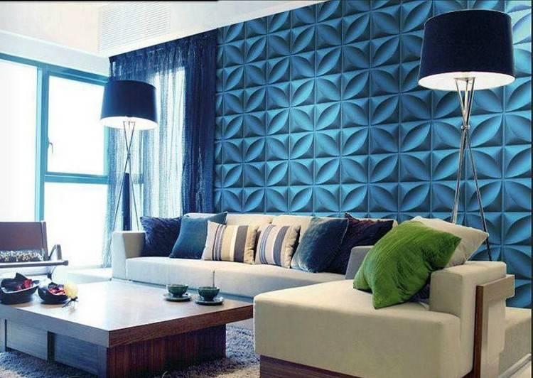 Особенности и разновидности 3d панелей для стен, рекомендации по монтажу
