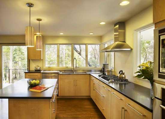 Обзор Кухни в каркасном доме: варианты отделки интерьера и дизайн - Обзор