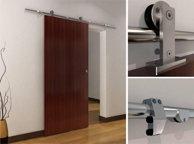Раздвижные двери – основные типы механизмов
