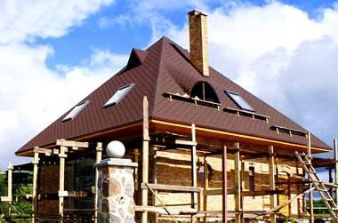Шатровая крыша: устройство стропильной системы, особенности монтажа, фото