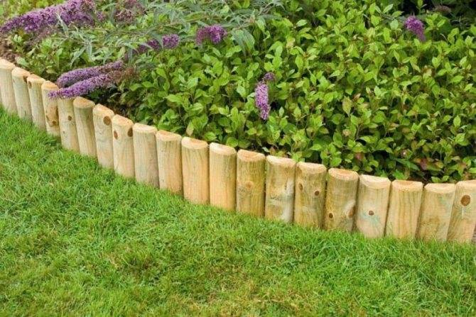 Декоративный бордюр - необычные идеи оформления и правила установки в саду и на участке (130 фото)