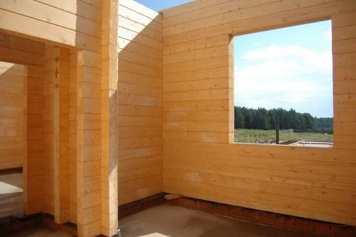 Как правильно построить дом из бруса 150х150 своими руками