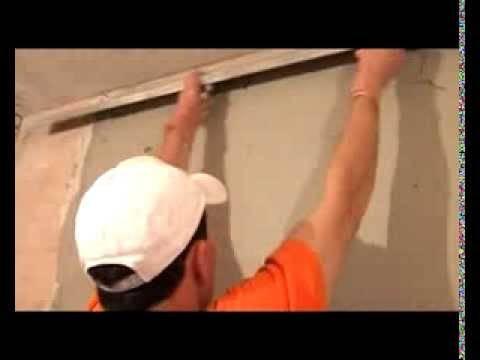 Как выровнять стены своими руками - детальная инструкция, видео