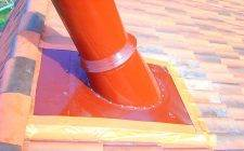 Труба на крыше - чем можно обшить и загерметизироватьстройкод