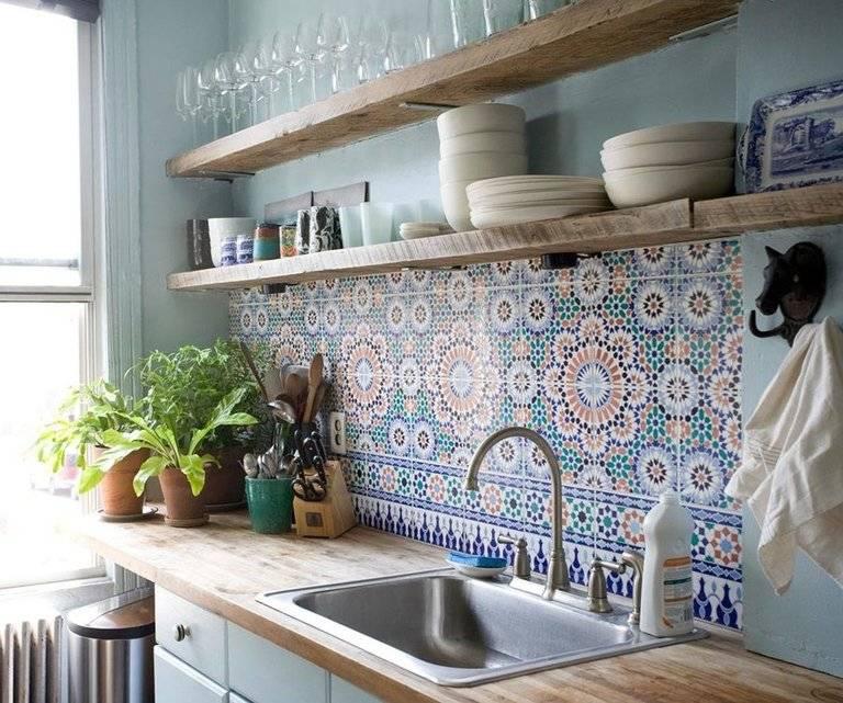 40 идей дизайна фартука из плитки