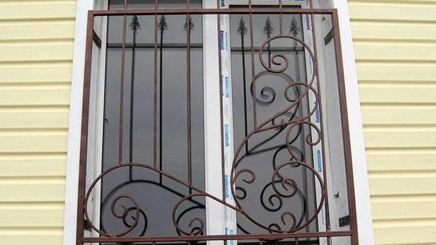 Решетки на окна, какие бывают решётки на окна, установка оконных решёток, преимущества решётки на окнах