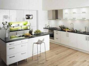 Черно-белая кухня: 50+ реальных фото, стили, третий цвет, советы по оформлению