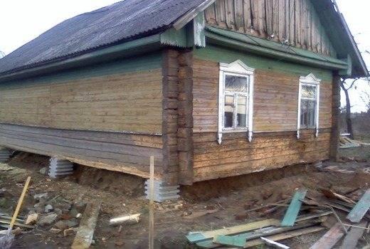 Просел фундамент вашего дома. что делать в этом случае?