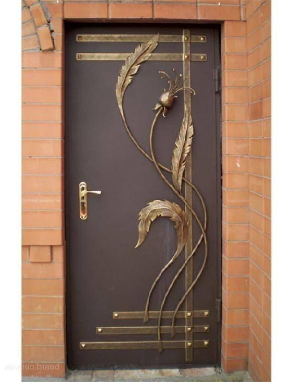 Изготовление металлических дверей (57 фото): как сделать своими руками железную входную двухстворчатую дверь