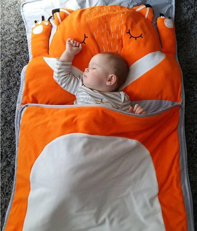 Спальный мешок для ребенка: детский мешок для сна малышу 5 лет