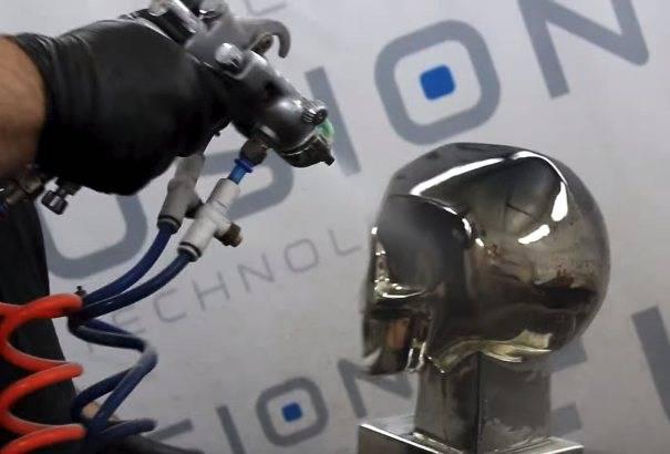 Технология выполнения металлизации пластмасс