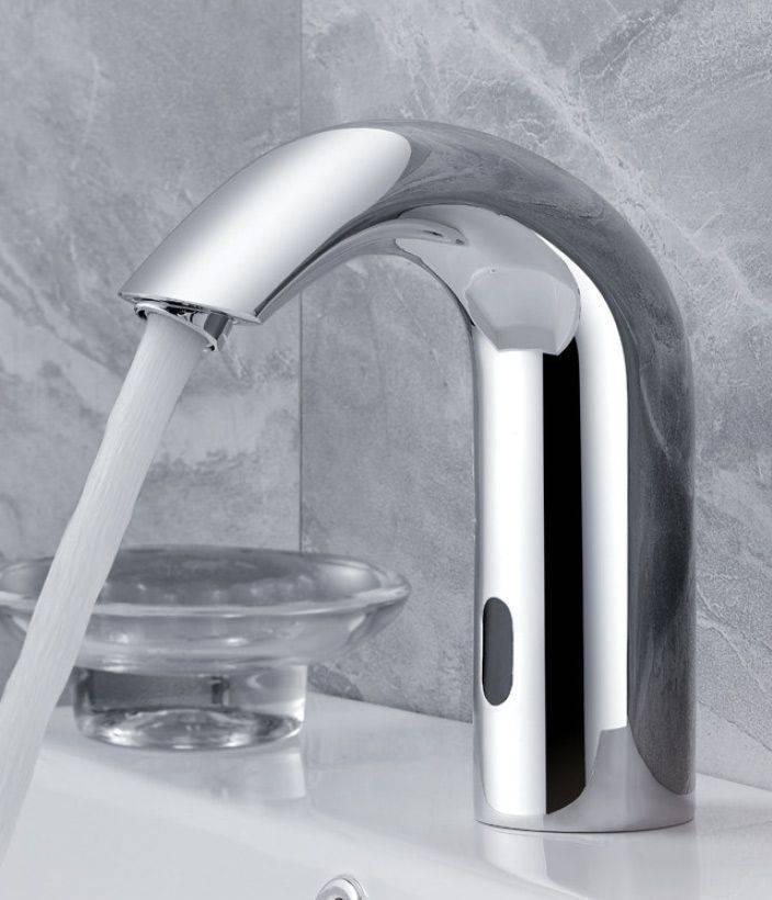 Устройство, особенности и монтаж водопроводных кранов с ик-датчиком открывания воды