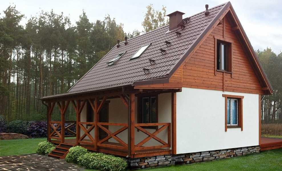 Дачный домик своими руками — 45 фото, проекты, идеи -