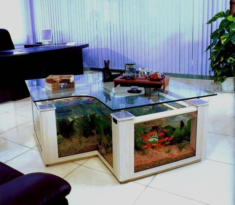 Дизайн аквариума на 100 л (34 фото): как оформить его своими руками? красивые варианты декора