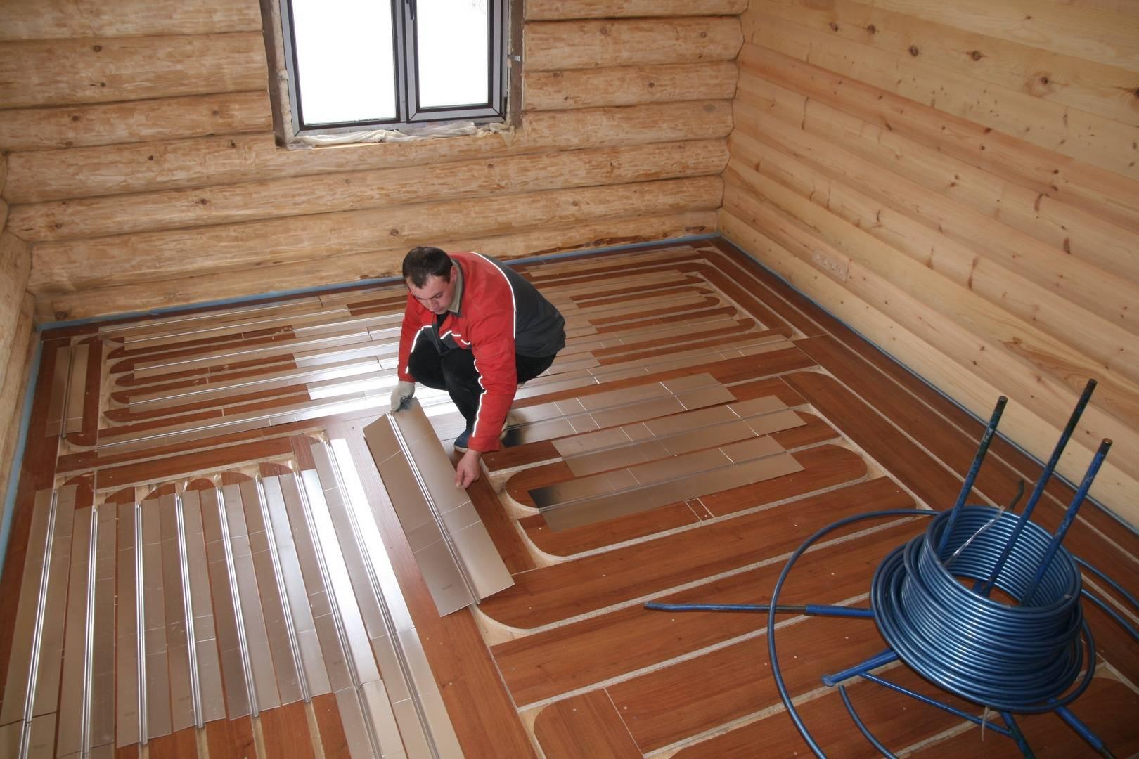 Устраиваем электрический теплый пол в деревянном доме