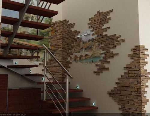Панорамное или обычное окно на лестнице в частном доме – особенности выбора и оформления