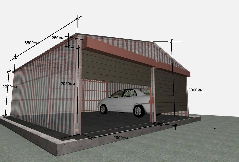 Теплый сборный гараж - особенности и варианты конструкции
