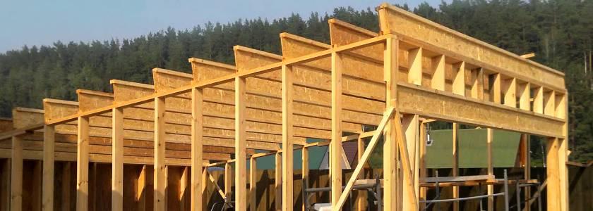 Каркасный гараж из дерева своими руками: пошаговая инструкция