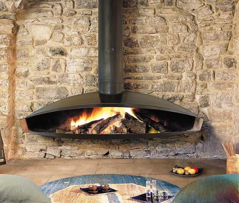 Виды каминов (49 фото): открытые конструкции без дымохода для частного дома , кассетные и паровые напольные модели из полиуретана
