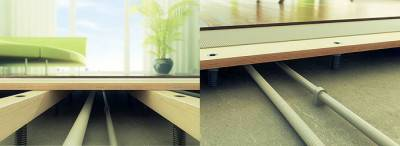 Деревянный пол на лагах: монтаж своими руками